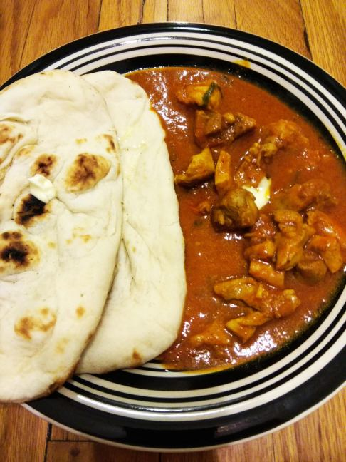 Butter Chicken & Naan