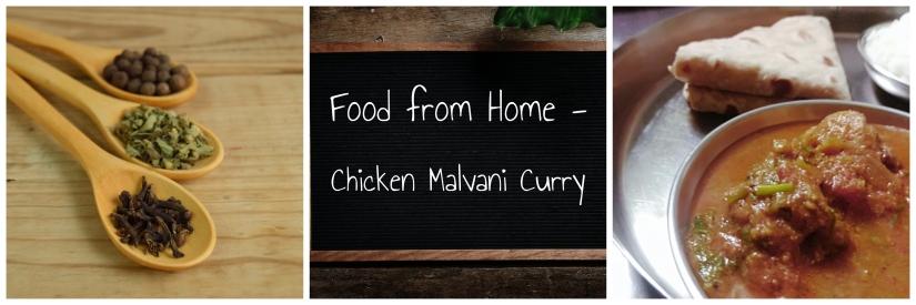 Food from Home – Chicken MalvaniCurry